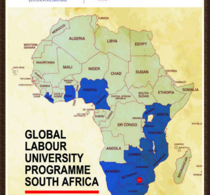 Global Labour University Programme South Africa: University of the Witwatersrand, Johannesburg